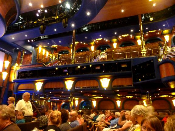 Carnival Breeze cruise ship decor