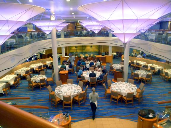 cruise ship decor, Carnival Breeze