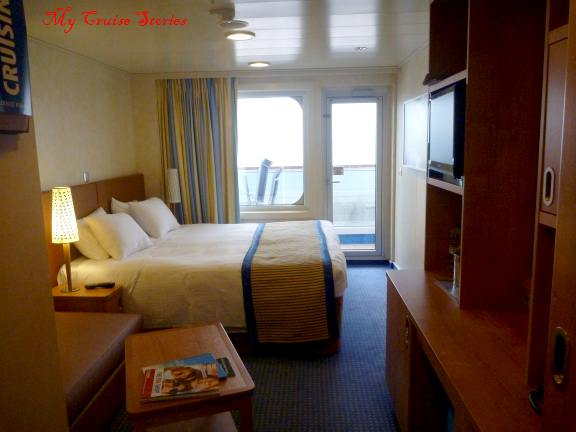 Carnival Breeze accomodations