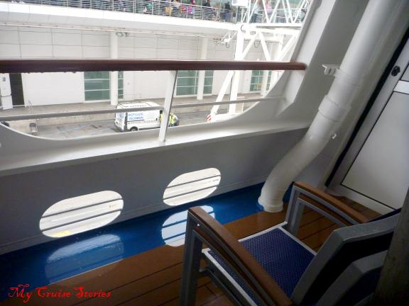 Accommodations on carnival breeze cruise stories for Cruise balcony