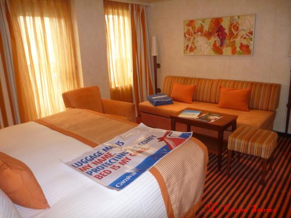 premium suite on Carnival breeze