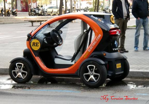 How many clowns can Spaniards fit into one of these?