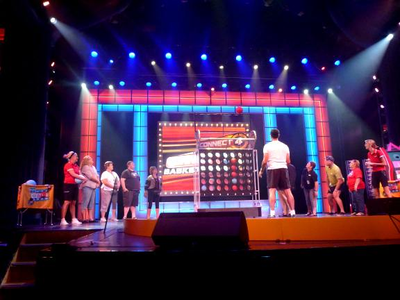 Hasbro The Game Show on Carnival Breeze