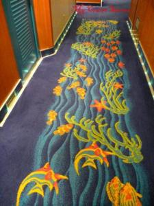cruise ship carpet