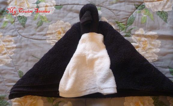 almost a towel penguin