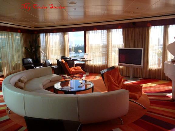biggest suite on Norwegian Pearl