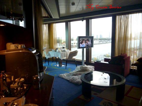 cruise ship suites