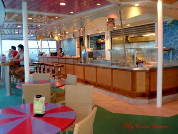 cruise ships have many bars