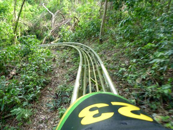 Jamaican Bobsled, Ocho Rios Jamaica