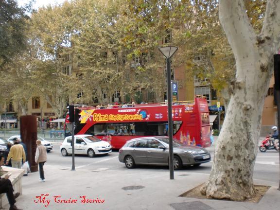 tour bus Palma de Mallorca