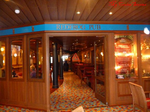 cruise ship bar with good eats