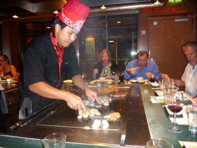 Teppanyaki chef