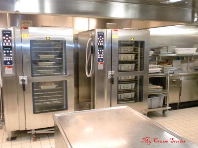 cruise ship galley ovens