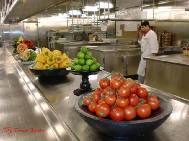 Carnival Breeze Galley