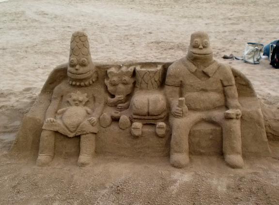 sand aculpture