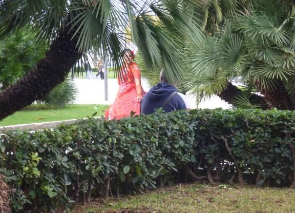 beggar in Palma de Mallorxa