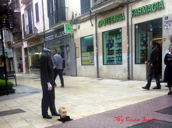 headless beggar