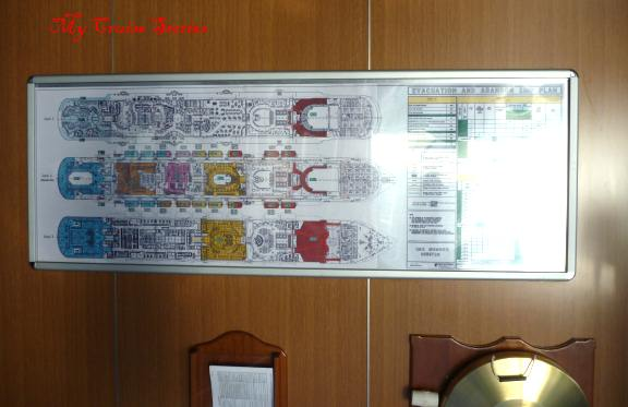 cruise ship diagrams
