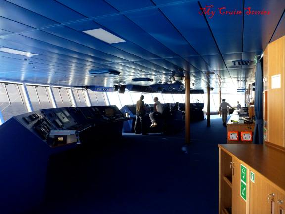 bridge on Carnival Breeze