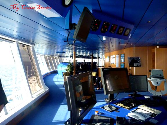 carnival breeze bridge tour and interview with the captain