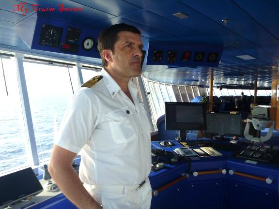 Carnival Breeze Bridge Tour And Interview With The Captain - How to be a cruise ship captain