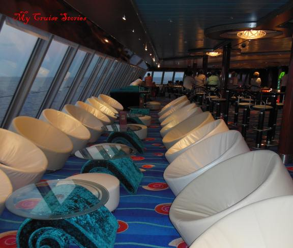 nooks and alcoves on cruise ships
