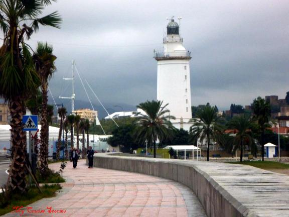 lighthouse, Malaga Spain
