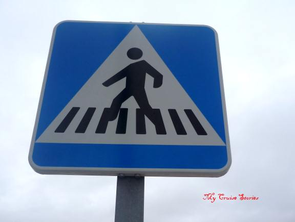 amusing crosswalk sign
