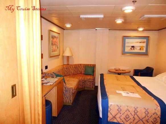 Westerdam inside cabin