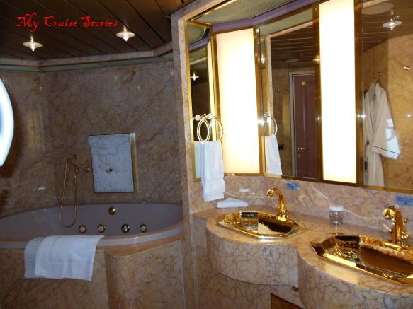 big staterooms get fancy bathrooms