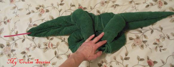 how to make a towel ant eater