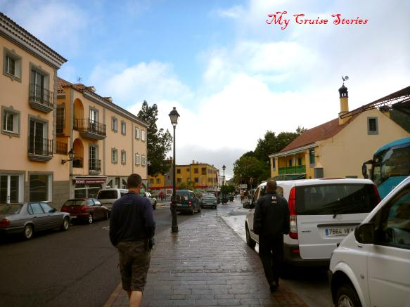 town on Grand Canary Island