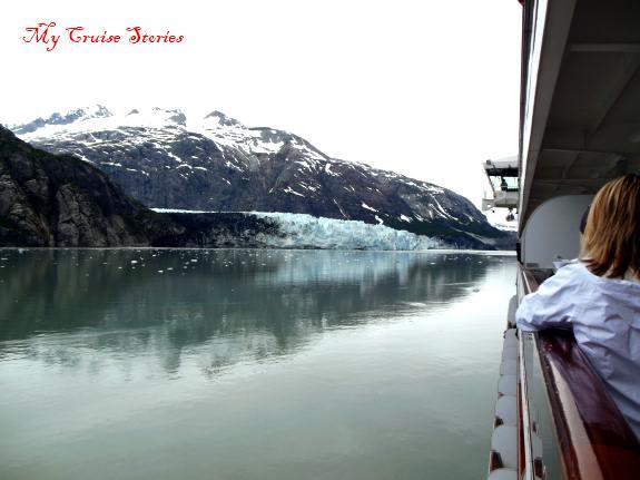 photographing Marjorie Glacier