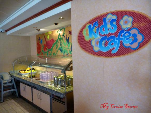 cruise ship buffet for kids