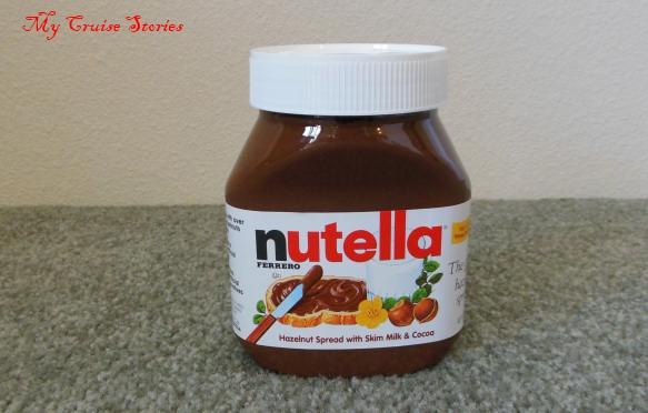 jar of nutella
