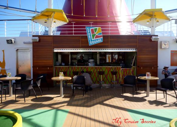 bars everywhere on cruise ships