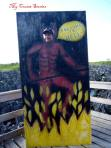 photoboard for posing in Hell