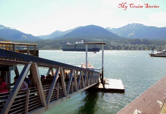 tender pier in Juneau, Alaska