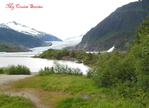 take a hike to see a glacier close-up
