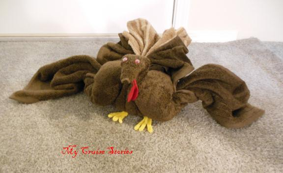 towel turkey