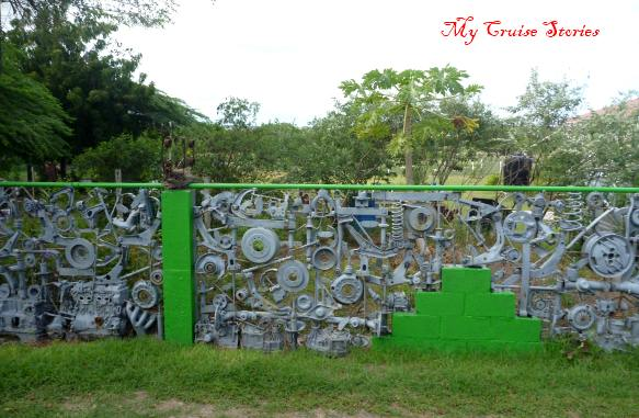 fence in Antigua