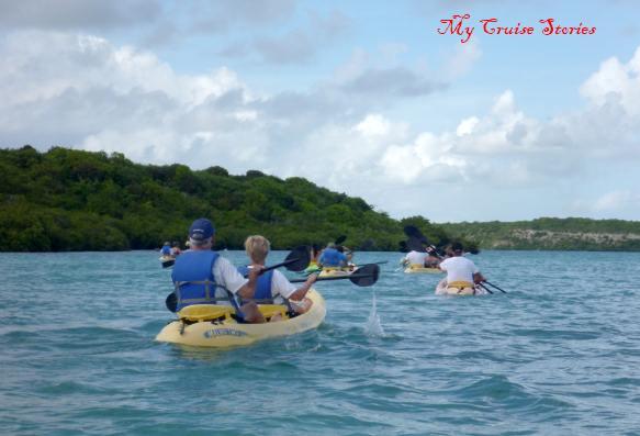 kayaks near Antigua