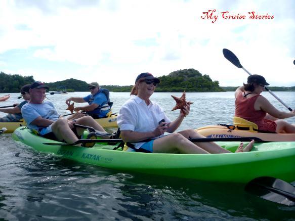 Do starfish go kayaking?