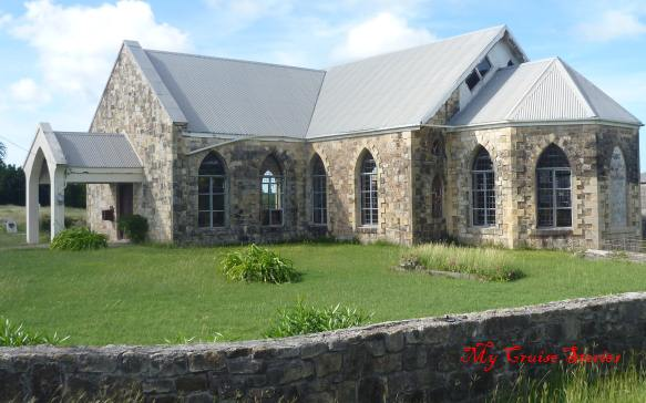 historic church in Antigua