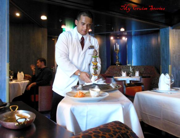 tableside waiter service