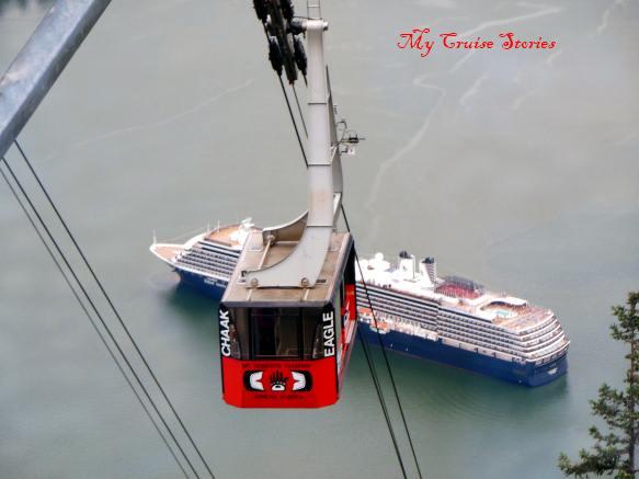 Mt Roberts tramway Juneau, Alaska