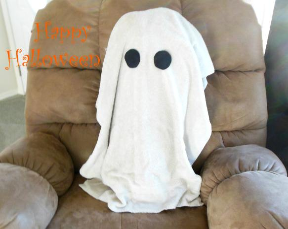 towel ghost