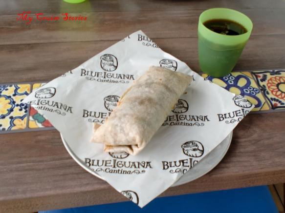 Blue Iguana Cantina on Carnival Breeze