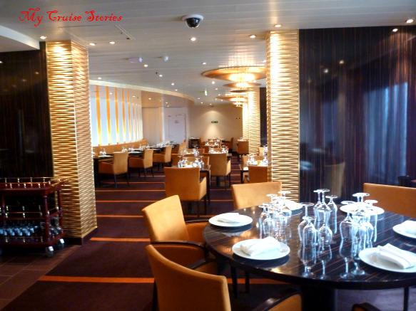 one of the pay-extra eateries on Carnival Breeze