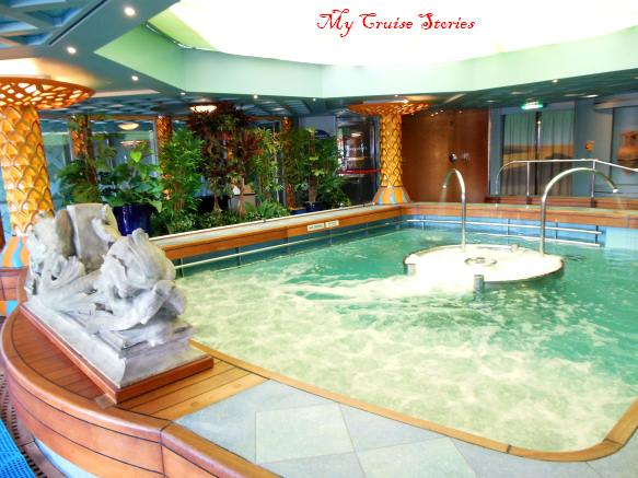 hydrotherapy mineral pool is part of the thermal package